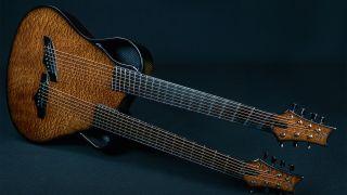The Emerald Chimaera Artisan – the double-neck guitar inspired by Richie Sambora