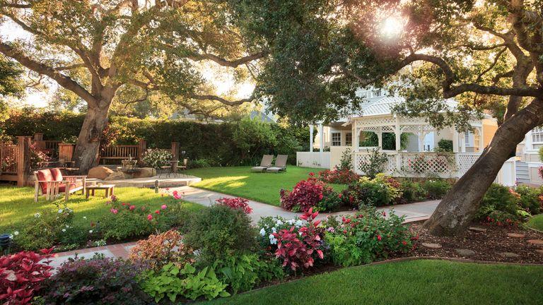 garden layout ideas: american style plot