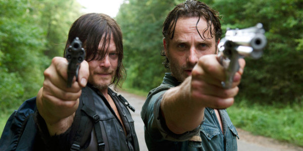 the walking dead daryl rick