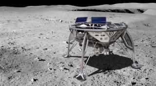 SpaceIL lander art