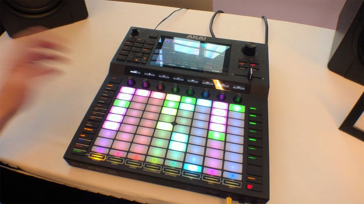 NAMM 2019 HANDS-ON: Akai Pro's Force risks being less than