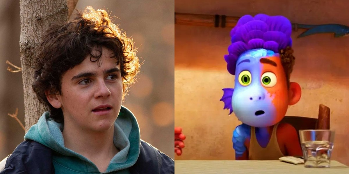 Jack Dylan Grazer and Alberto from Luca