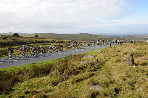 Dartmoor, Tour of Britain 2010, stage five