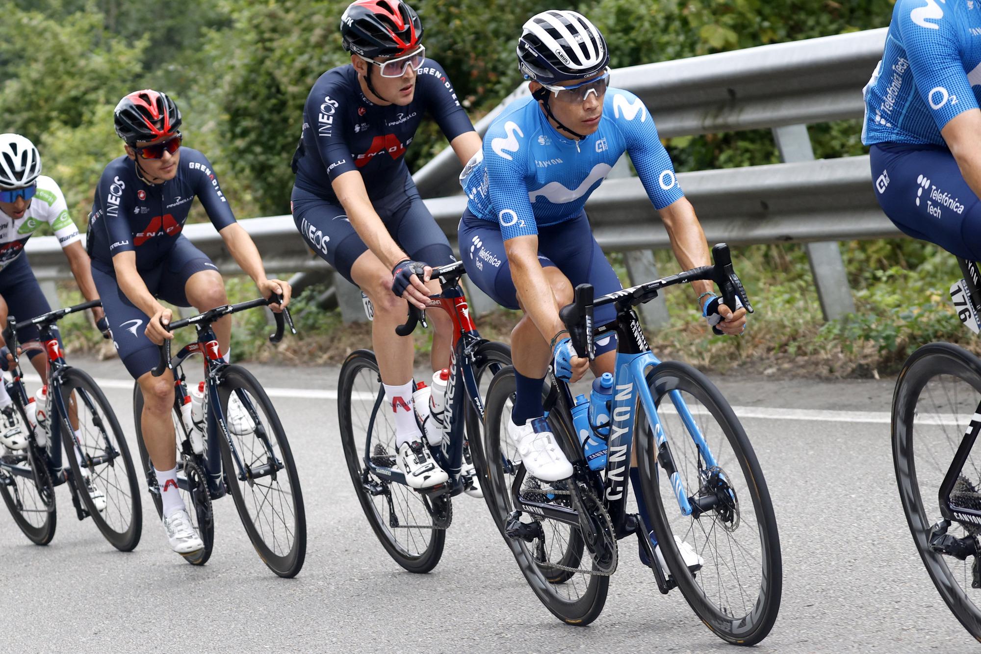 Vuelta Espana 2021 - 76th Edition - 18th stage Salas - Altu d'El Gamoniteiru 162,6 km - 02/09/2021 - Miguel Angel Lopez (COL - Movistar Team) - photo Luis Angel Gomez/BettiniPhoto©2021