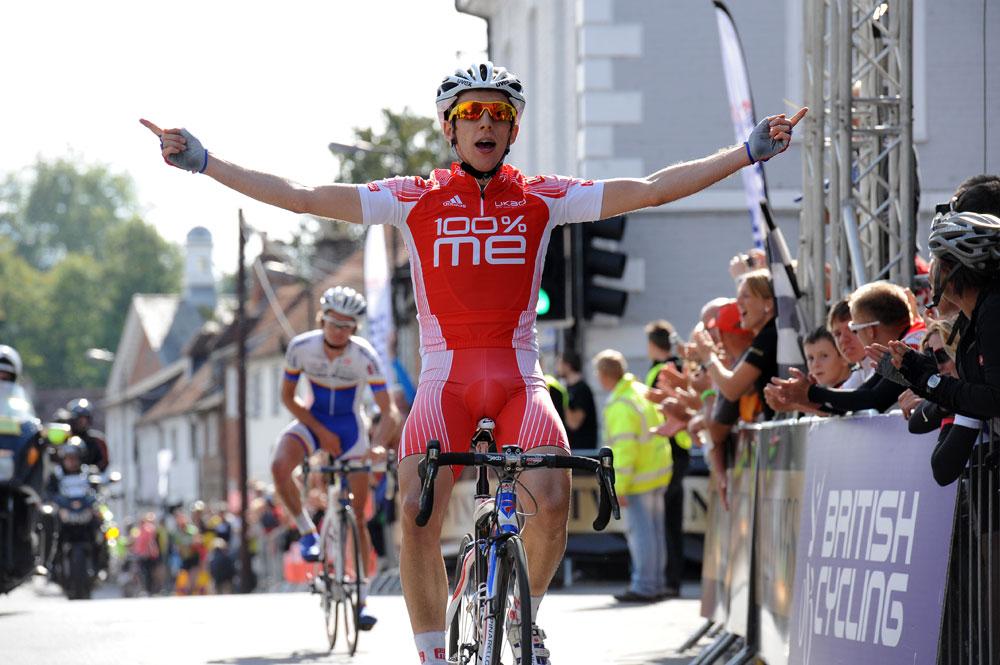 Simon Yates wins, Twinings Pro-Am Tour 2011