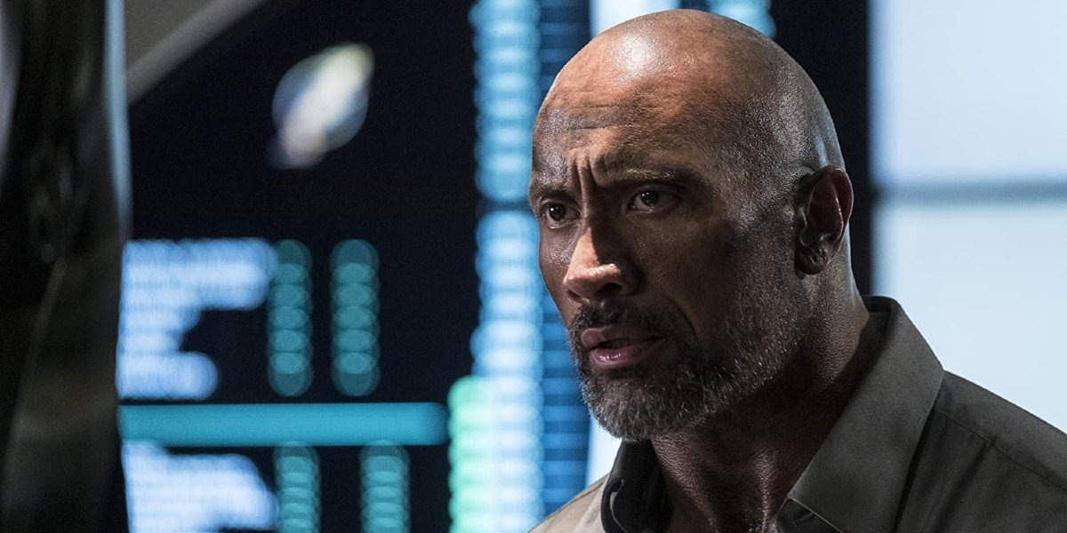 Dwayne Johnson in Skyscrapper