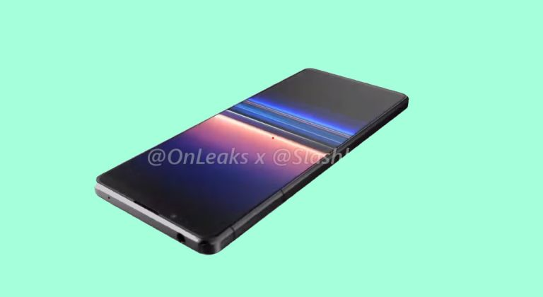 Sony Xperia 2020 render