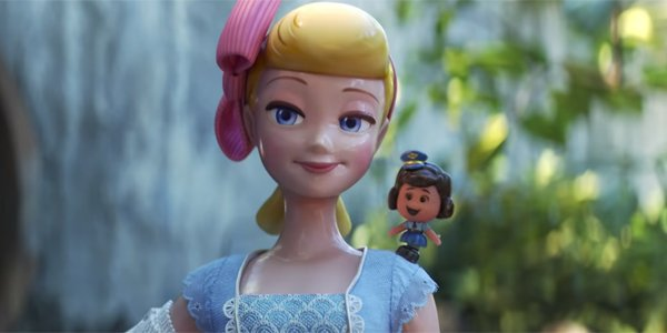 screenshot of Bo Peep in Toy Story 4 Clip with Giggle