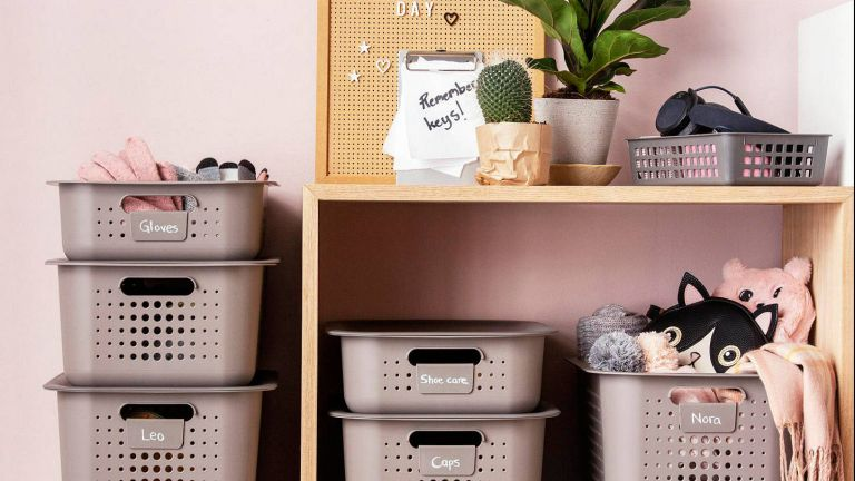 grey storage boxes from john lewis & partners