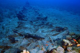 shipwrecks discovered at Fourni, Greece
