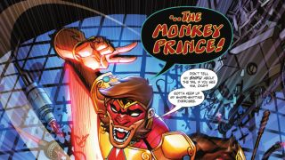 """art from """"The Monkey Prince Hates Superheroes"""""""
