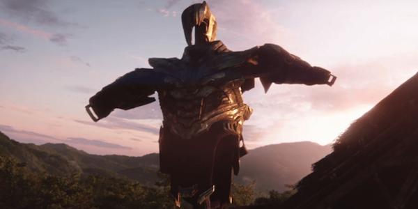 Thanos armor avengers endgame movie