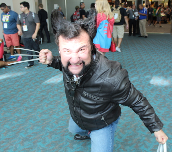 SDCC Costume wolverine