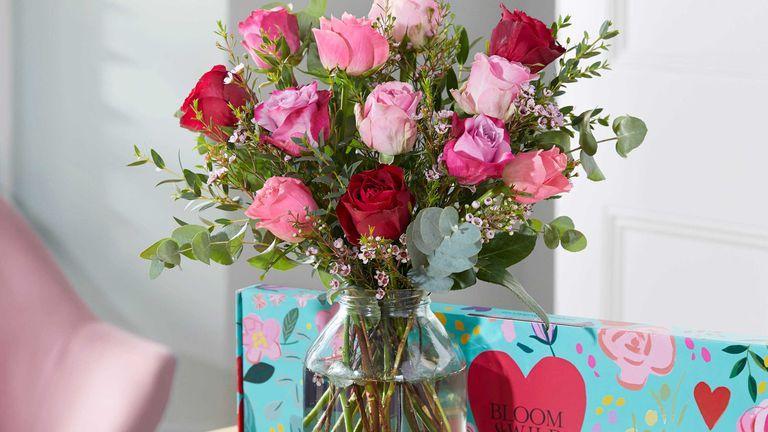 Bloom + Wild Valentine's Day flowers