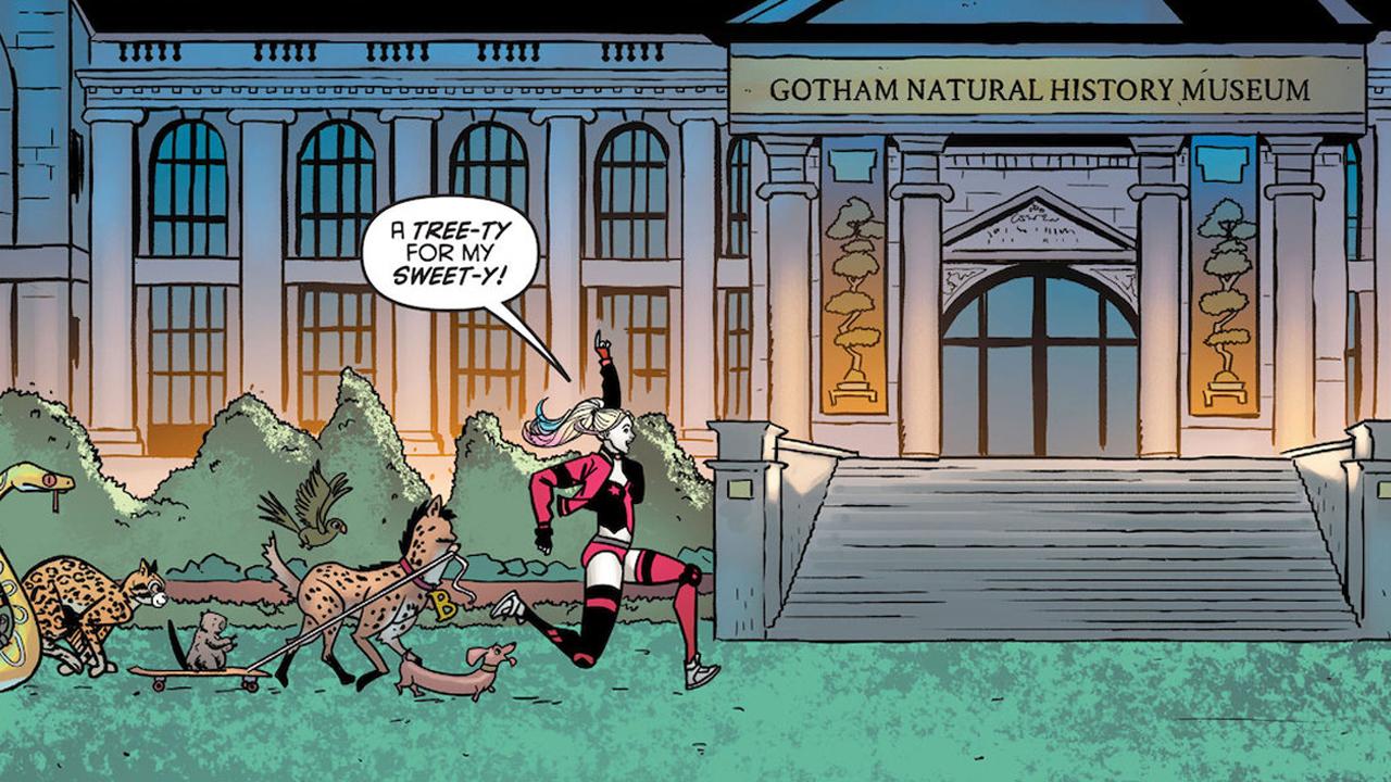 Simone And Bennett Tell Harley Quinn Stories In Make Em Laugh 2 Gamesradar