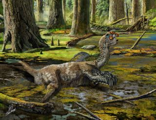 Tongtianlong limosus dinosaur