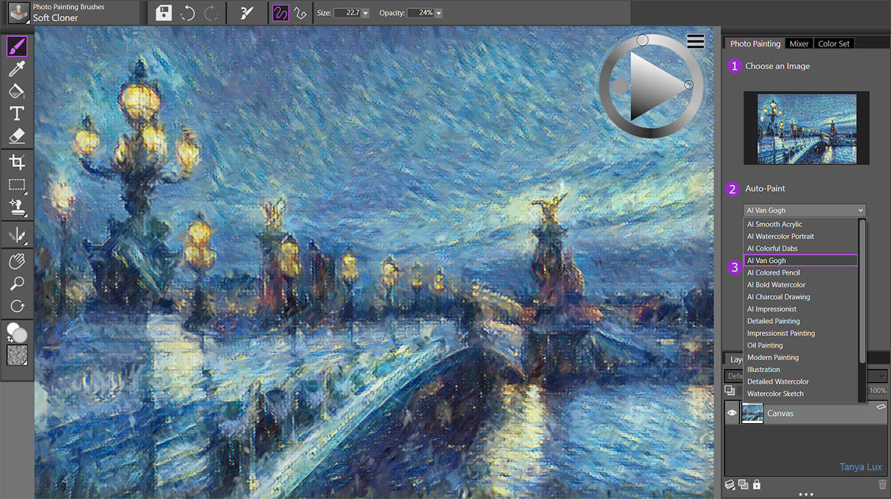 Can Painter Essentials 7 turn you into van Gogh? | Creative Bloq