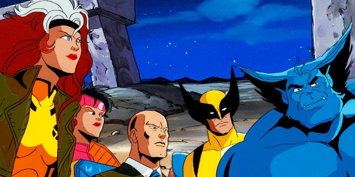 The X-Men, staring off into tomorrow