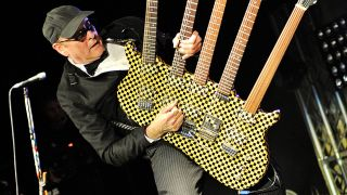 A shot of Cheap Trick's Rick Nielsen