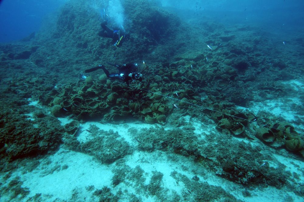 22 Ancient Shipwrecks Discovered Near Greek Island