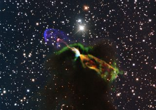 Star Birth Drama Captured By Giant Radio Telescope Photos Space