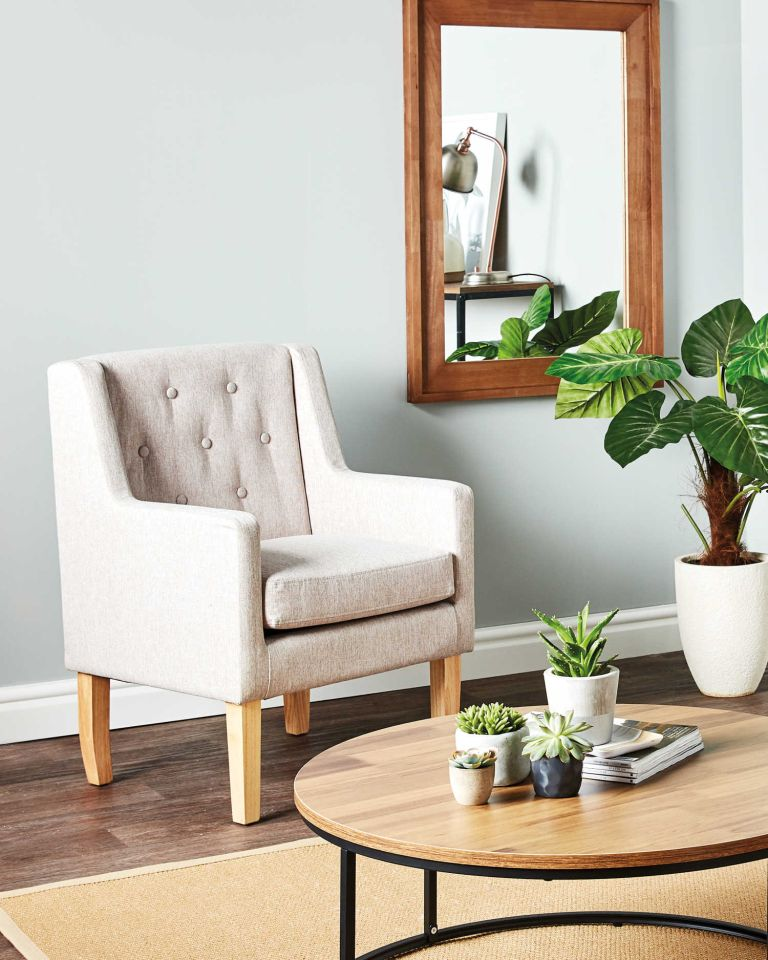 Aldi is selling living room furniture and it is GORGEOUS