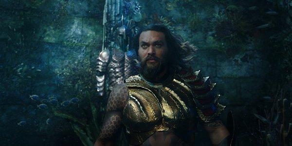 Aquaman in Atlantean armor