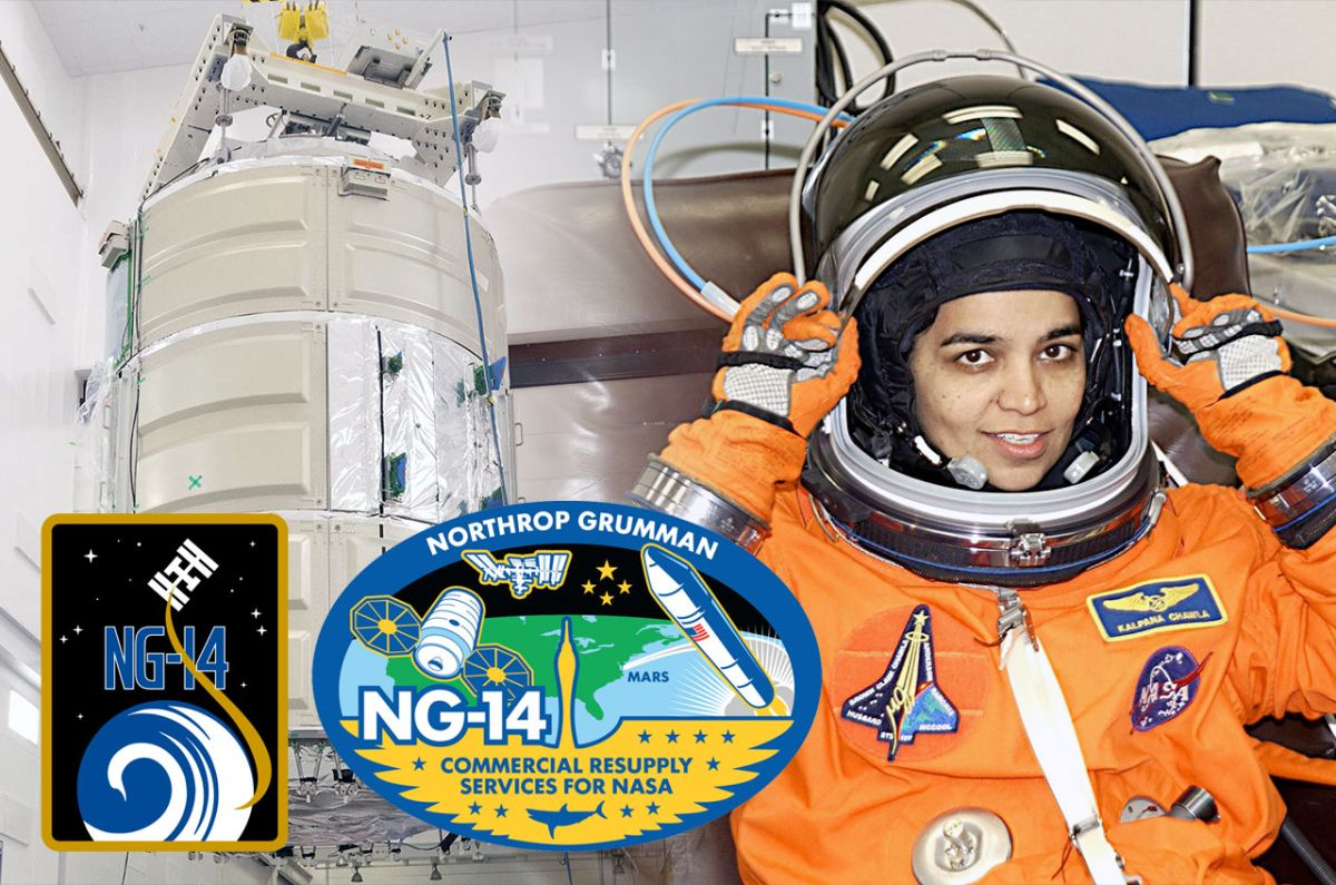 Cargo spacecraft named for fallen NASA astronaut Kalpana Chawla