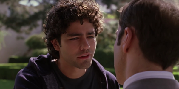 Adrian Grenier as Aquaman... star Vincent Chase on Entourage