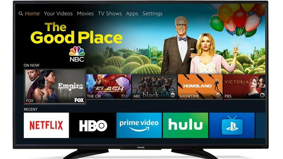 the toshiba 50 inch 4k fire tv is only 299 for cyber monday techradar. Black Bedroom Furniture Sets. Home Design Ideas