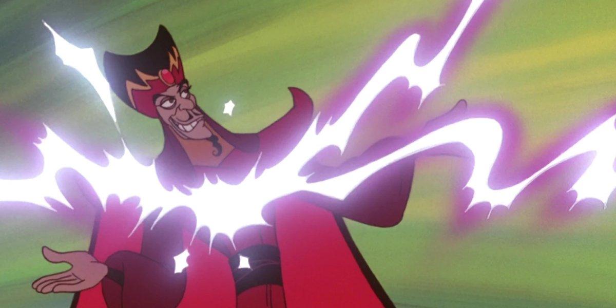 Jafar in the animated Aladdin sequel The Return of Jafar