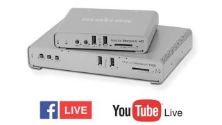 Matrox Adds Native Facebook, YouTube Live Support to Monarch Encoders