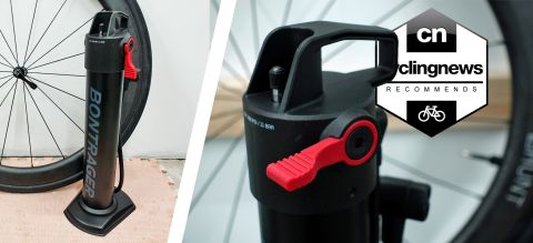 Bontrager Flash Can charger bike pump
