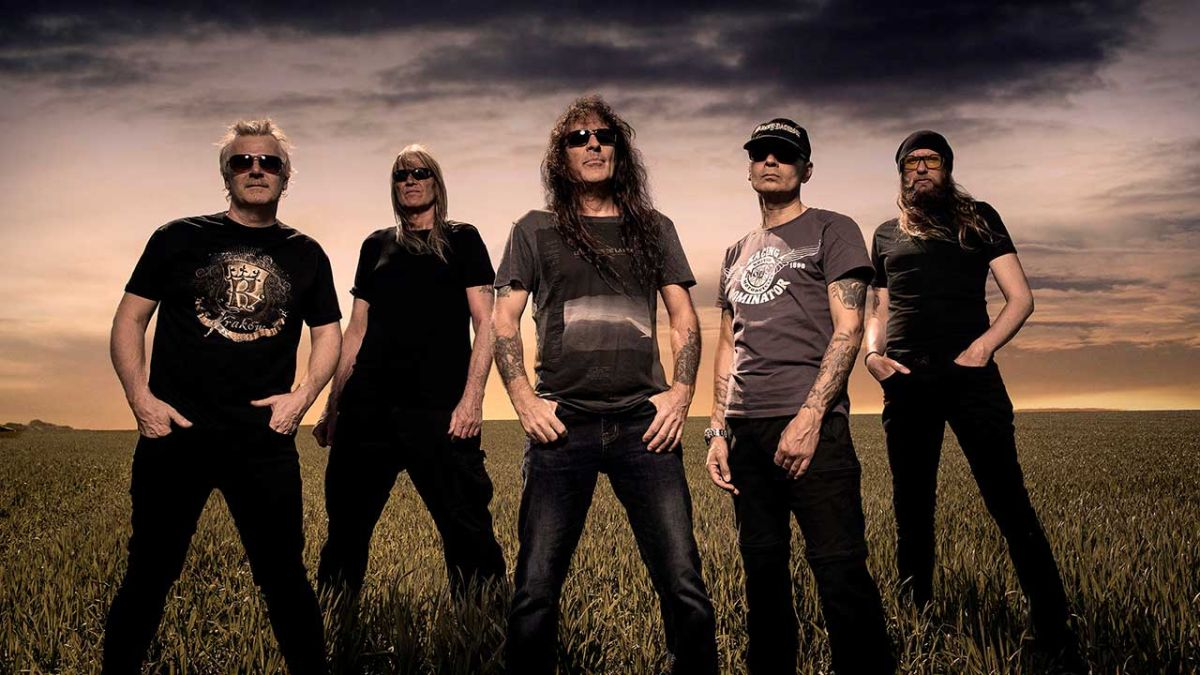 Listen to the storming title track from the new Steve Harris and British Lion album