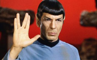Leonard Nimoy, the original Mr. Spock.
