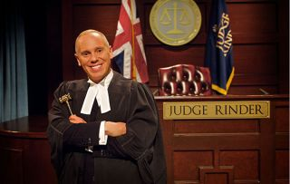 Judge Rinder reveals his most memorable case - it involves a mankini! - as he clocks up 1,000 TV cases