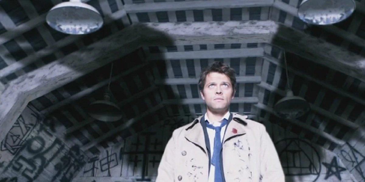 Misha Collins as Angel Castiel in Supernatural