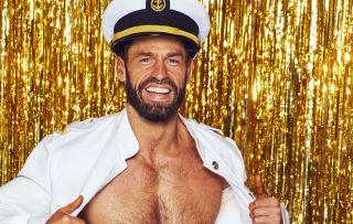 Former Emmerdale star Kelvin Fletcher in The Real Full Monty