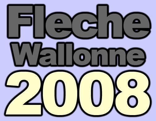 Fleche Wallonne 2008 logo
