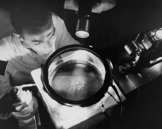 space history, NACA, radiation