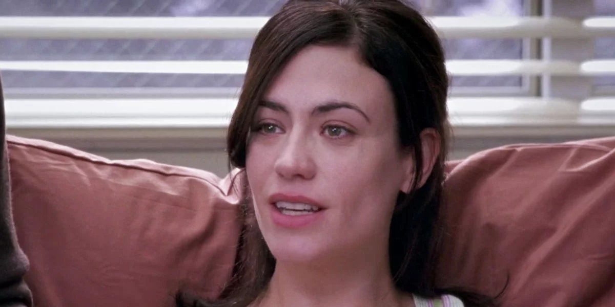Maggie Siff on Grey's Anatomy