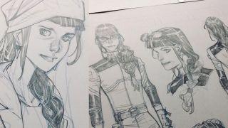 Hawkeye: Kate Bishop concept art