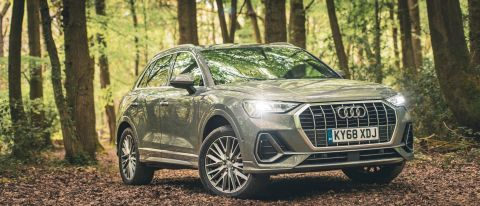 Audi Q3 review photos