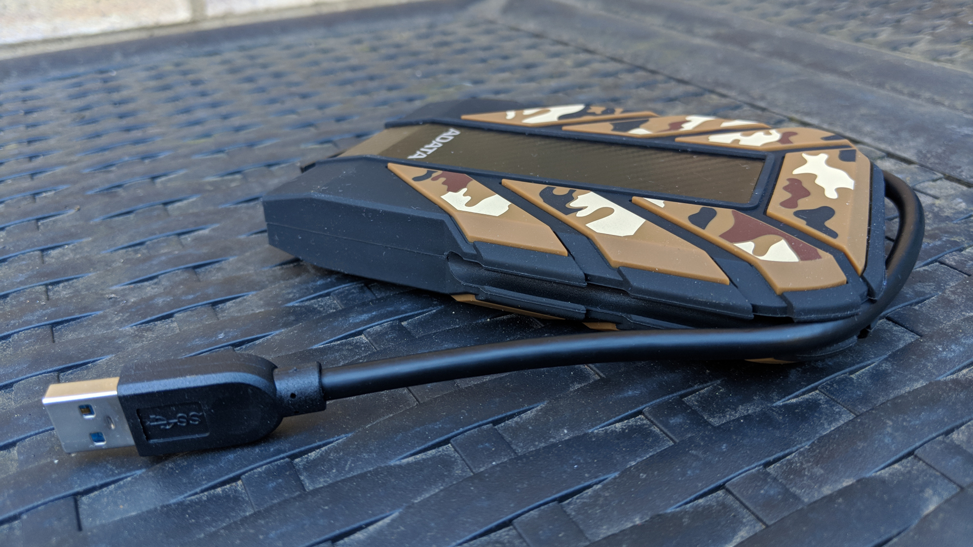 "Camo ADATA Durable HD710M Pro Waterproof USB 3.0 2TB 2.5/"" External Hard Drive"