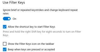 How to enable keyboard typing sounds in Windows 10
