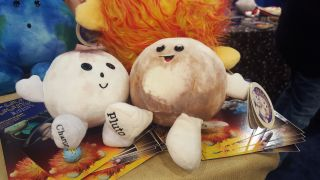 Celestial Buddies new Pluto and Charon plush toys for 2016 make the solar system that much more cuddly.