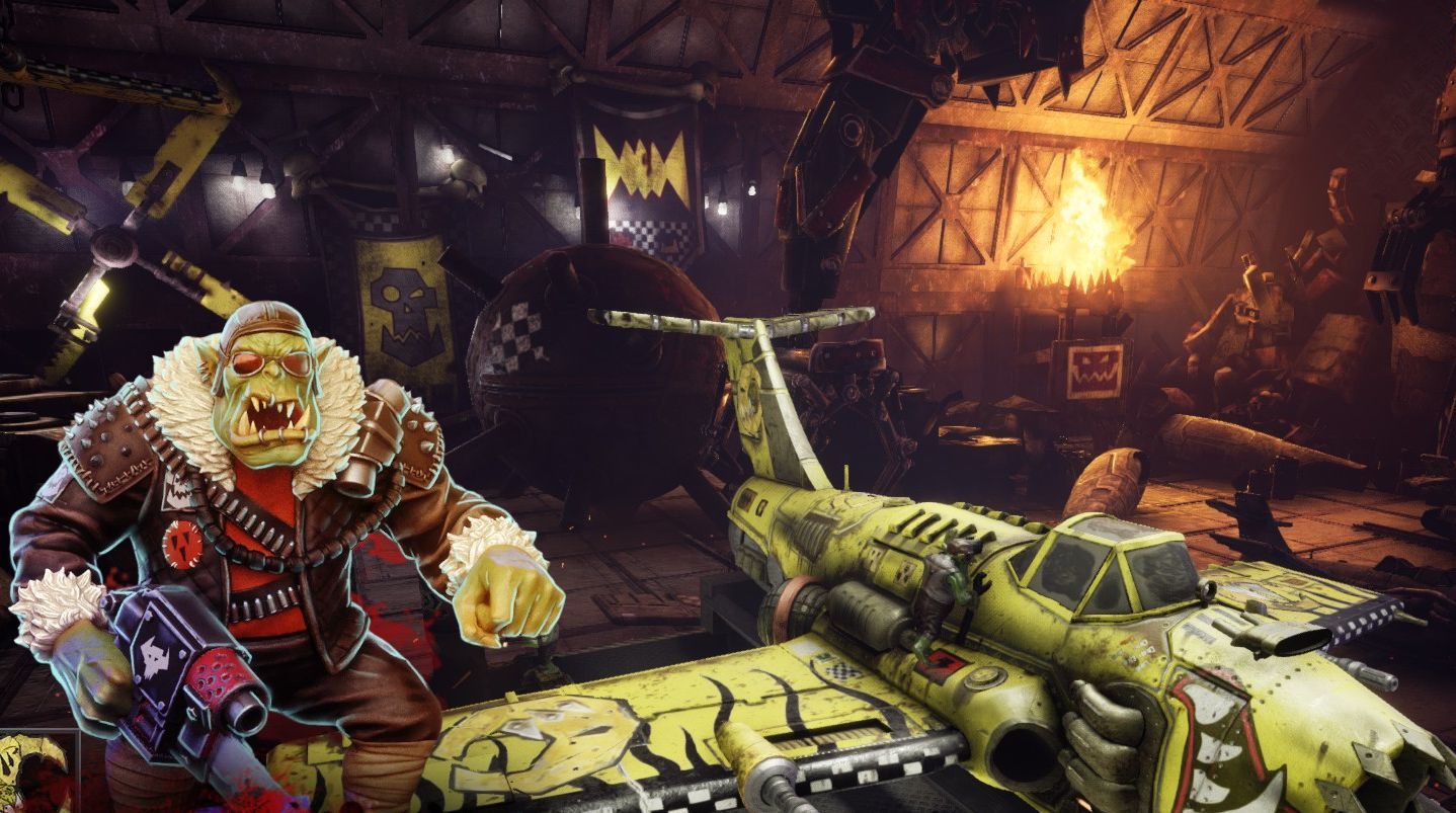 Warhammer 40,000: Dakka Squadron is the orkiest 40K game