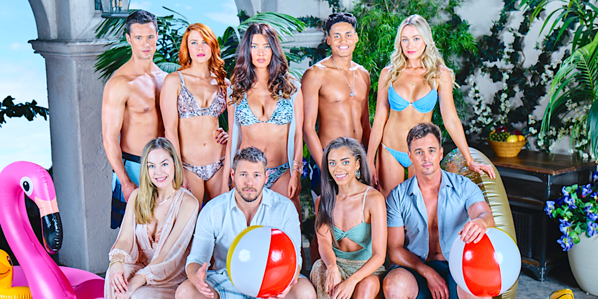 the bold and the beautiful cast bikinis and beach balls