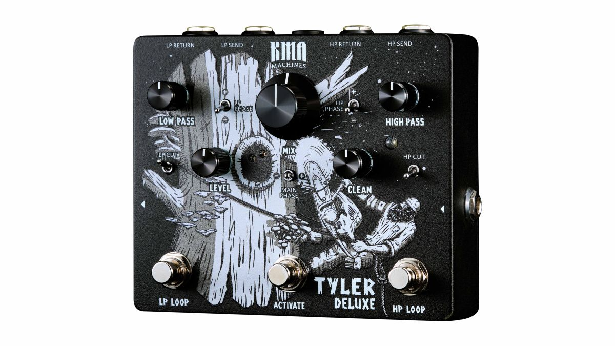 KMA Machines turns frequency splitting up to 11 with its new Tyler Deluxe pedal