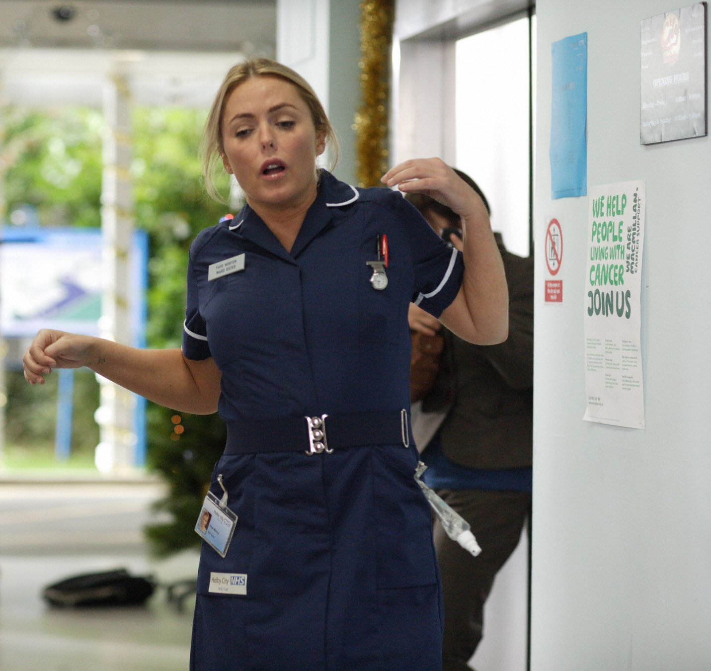 Disaster strikes at Holby